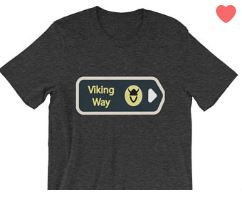 Etsy GlokalCorner The Viking Way T-shirt